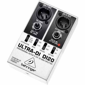 Direct Box Di20 Ativo 2 Canais Behringer Original
