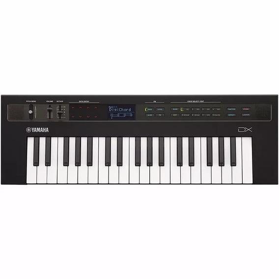 Teclado Sintetizador Yamaha Reface Dx C/ Fonte E Cabo Midi