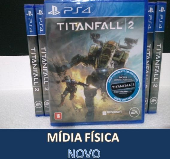 Titanfall 2 Em Português Midia Física Ps4 Lacrado