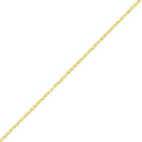 Corrente Ouro 18k Piastrine 45 Cm 1,3grama