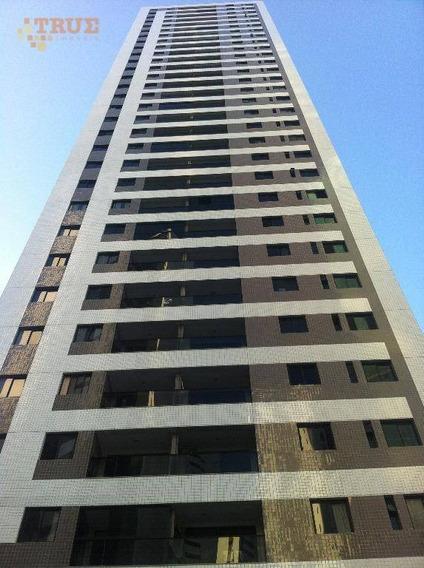 Apartamento À Venda, 102 M² Por R$ 750.000 - Rosarinho - Recife/pe - Ap3140