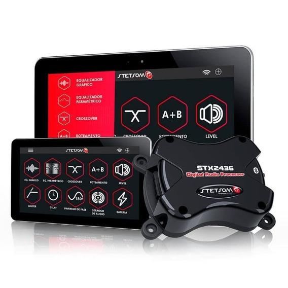 Processador De Audio Digital Stx2436 Bluetooth Stetsom
