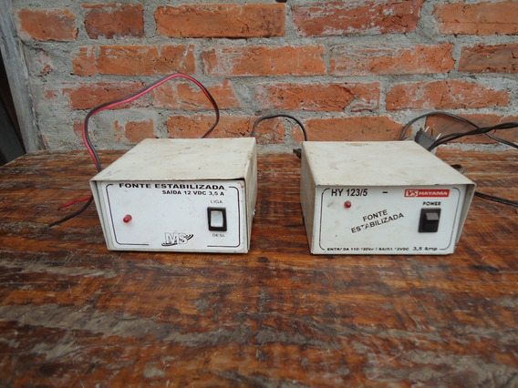 2 Fonte Chaveada 12 Vdc 3,5 Amp Para Uso Geral Hayama*