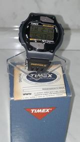 Timex Dos Anos 90 Incrível Ainda Sem Uso Na Caixa E + Manual