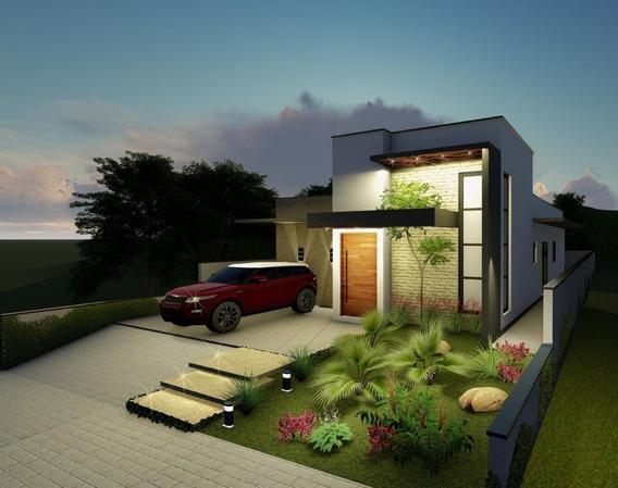 Casa Térrea Em Condomínio Fechado / Atibaia Ca-515