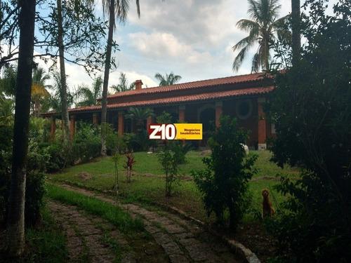 Ch01579- Colinas Do Mosteiro De Itaici Indaiatuba/sp - Imóvel Mobiliado Venda R$1.007.000,00.(at5.500m² Ac 550m²) - Z10 Negócios Imobiliários. - Ch01579 - 3203102