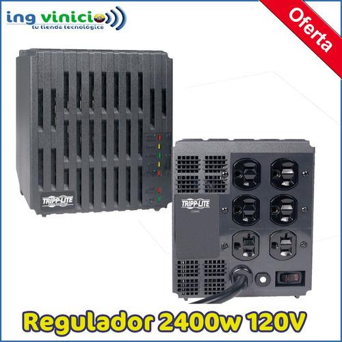 Regulador De Voltaje Tripp-lite Lc2400 120v 2400va 2400w