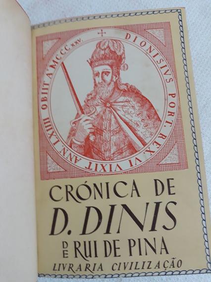 Crónica De D.dinis 342págs1945 Rui De Pina-leia Descrição