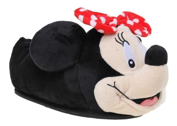 Pantuflas Addnice Disney Minnie Talles Adultos 32-38 Manias