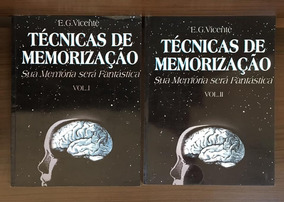 Livro Tecnicas De Memorização - Vol 1 E 2