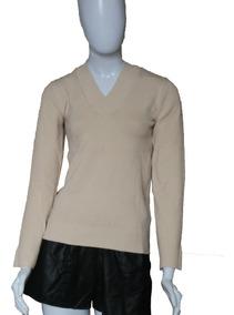 Blusa De Frio Casaco Cardigan Lã Trico Liso Gola V # B10