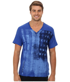 Camiseta Calvin Klein Jeans Ai Vertical Flag Tee