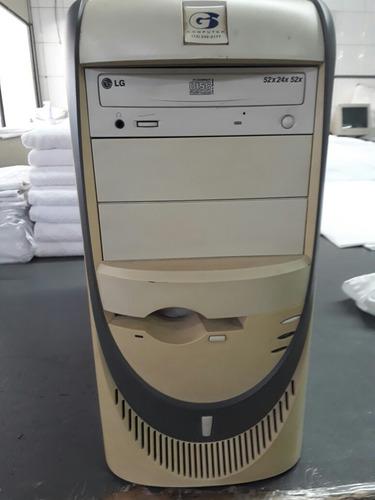 Torre Pentium 4 1.7 Ghz 1gb Ram Hd 20gb Gravador Cd 52x Rede