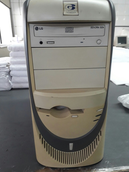 Torre Pentium 4 1.7 Ghz 1gb Ram Hd 20gb Gravador Cd 52x Rede