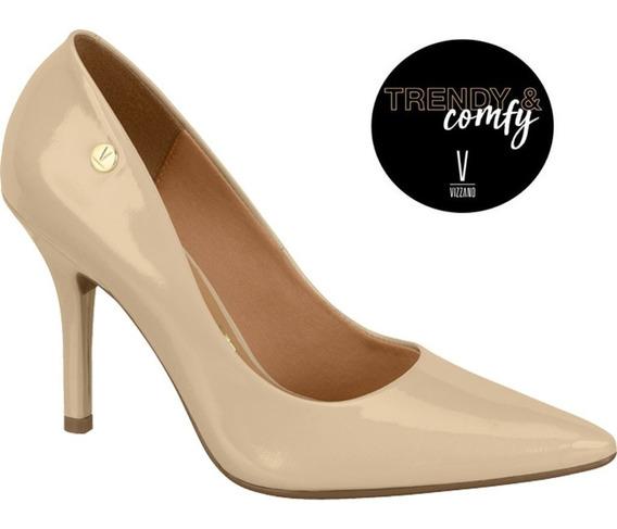 Sapato Scarpin Vizzano Salto Alto Verniz Premium 1184101