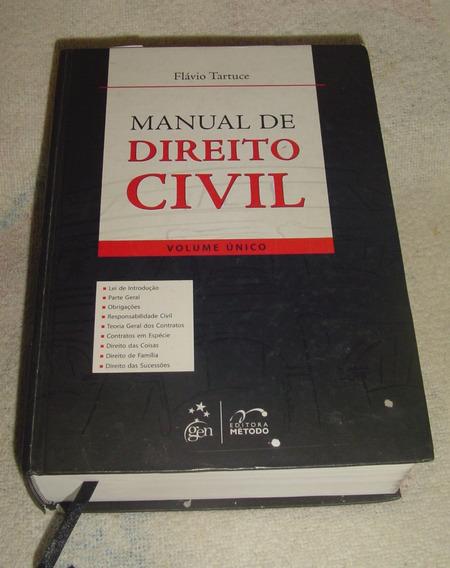 Manual De Direito Civil - Flávio Tartuce - Volume Único