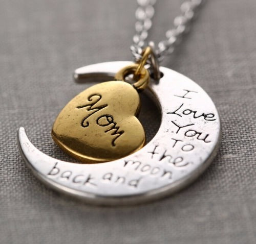 Joyería Collar Luna Madre Love You To The Moon And Back