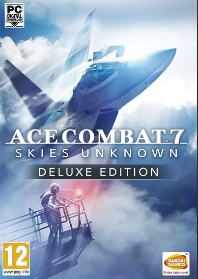 Ace Combat 7 Skies Unknown Deluxe Edition (midia Fisica-pc)