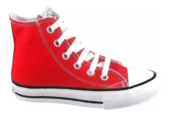 Botitas Lona Roller Star Originales Niños 21 /34 Simil Converse All Star