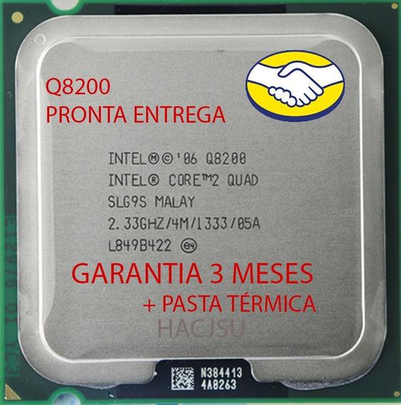 Processador 775 Intel Core 2 Quad Q8200 2.33ghz 4mb Seminovo
