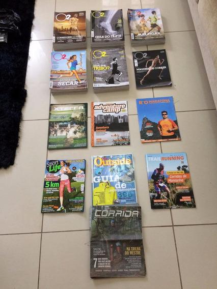 Coleção Revistas De Corrida Esportes O2