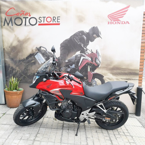Honda Cb 500x Roja 2015