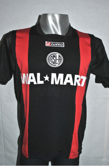 Camiseta San Lorenzo , Lotto 2008 Alternativa Negra. Talle L
