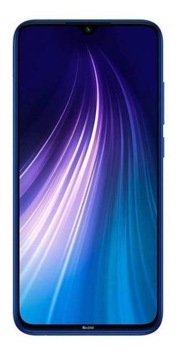 Imagem 1 de 3 de Xiaomi Redmi Note 8 2021 Dual SIM 128 GB neptune blue 4 GB RAM