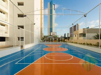 Apartamento Com 3 Dormitórios Para Alugar, 73 M² Por R$ 1.900/mês - Manaíra - João Pessoa/pb - Cod Ap0670 - Ap0670