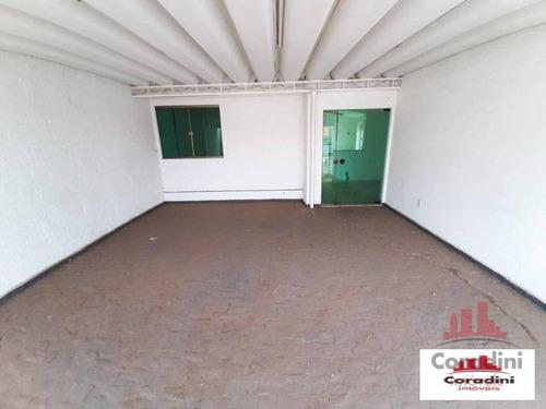 Imagem 1 de 14 de Casa Com 1 Dormitório Para Alugar, 59 M² Por R$ 1.200,00/mês - Vila Pavan - Americana/sp - Ca2754