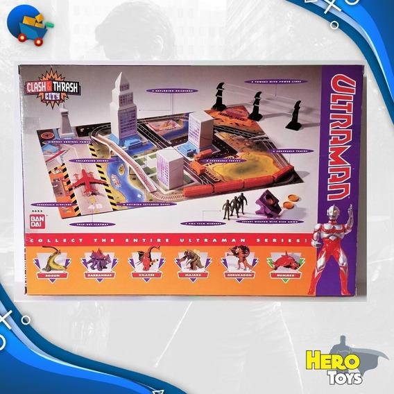 Ultraman Clash City Bandai Cenario Edificios P Entrega Raro