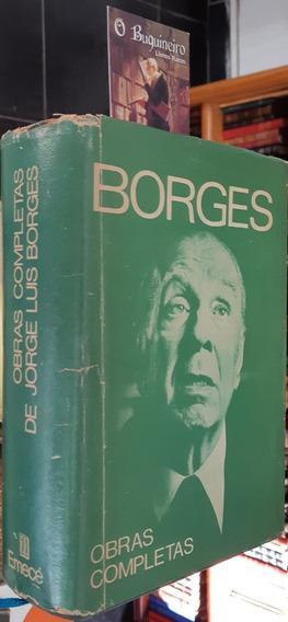 Obras Completas 1923-1972 - Jorge Luis Borges - 1ª Edição