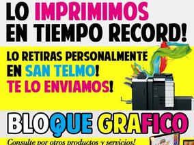 Impresiones Fotocopias Blanco Y Negro.pdf Desde $0,40 Copias