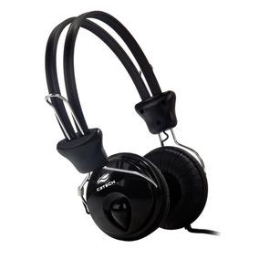 Headphone C3 Tech Tricerix C/ Microfone Preto - Mi-2280erc