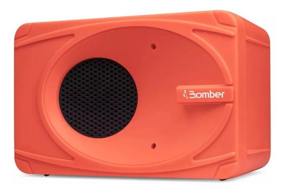 Mini Caixa De Som Bluetooth Portátil My Bomber Laranja 5w