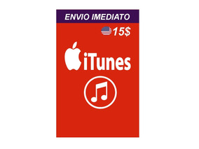 Cartao Apple Itunes 15 Dólares Usd