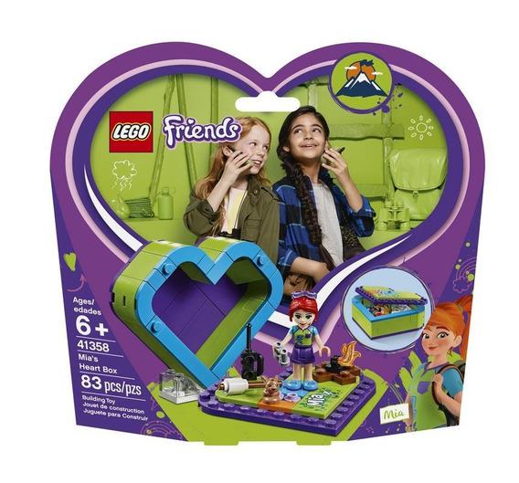 Lego 41358 Caja Corazón De Mia