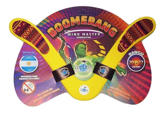 Boomerang Bumeran Windmaster Ambidiestro Recreativo 20-25 Mt