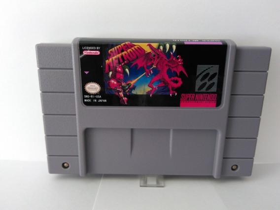 Fitajogo Super Nintendo Super Metroid Chip Original Nintendo