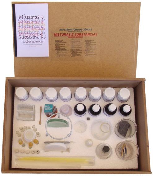 Kit - Misturas E Substâncias - Reações Químicas- Mini Lab