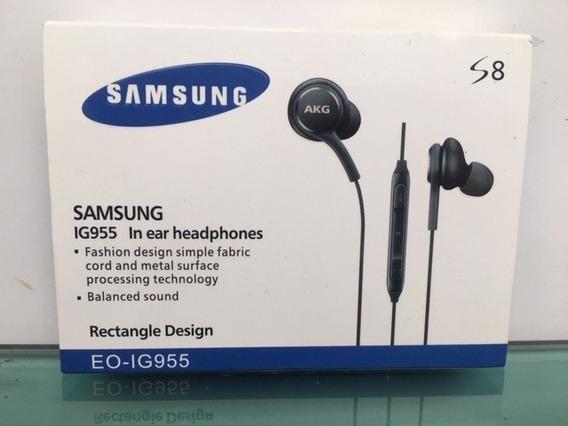 Fone Ouvido Original Akg Samsung S7 S8 S9 Note 9 Ig955
