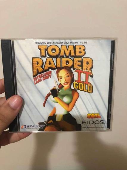 Game Tomb Raider 2 Gold Estrelando Lara Croft Frete Grátis
