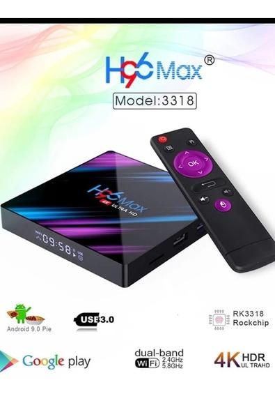 Tv Box H96 Max Android 9.0