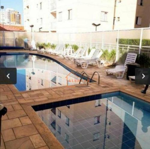 Imagem 1 de 15 de Apartamento Com 3 Dormitórios À Venda, 58 M² Por R$ 348.000,00 - Tatuapé - São Paulo/sp - Ap0211