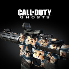 Call Of Duty Ghosts Personagen Extincao Camu Promocao Flash