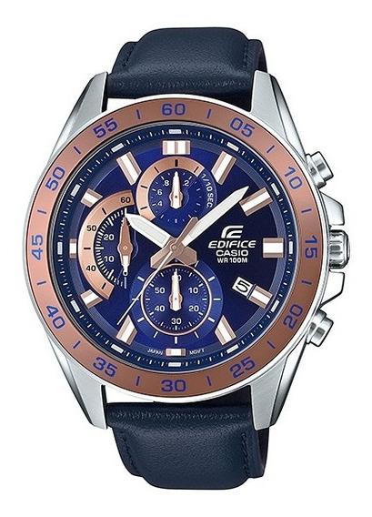 Reloj Casio Edifice Cronógrafo Estándar Efv-550l-2