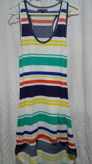Vestido De Playa Tipo Sport Hermoso,bershka, Pull And Bear