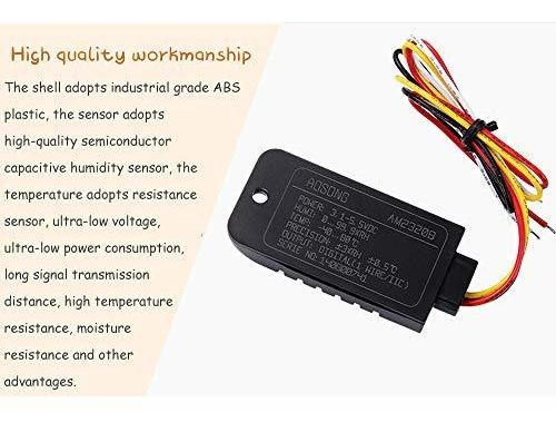 Acxico 1Pcs AM2320B Digital Temperature Humidity Sensor Module AM2301 SHT21 Single Bus//IIC Compatible Interface 4 pin for Arduino
