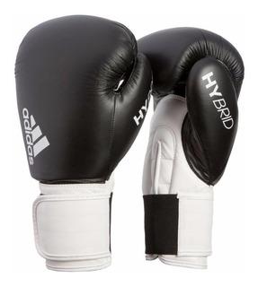 Set De Boxeo adidas Hybrid 100 Box Guantes + Protector Bucal