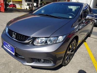 Honda Civic Lxr 2.0 Completo 2015 Flex Aut.